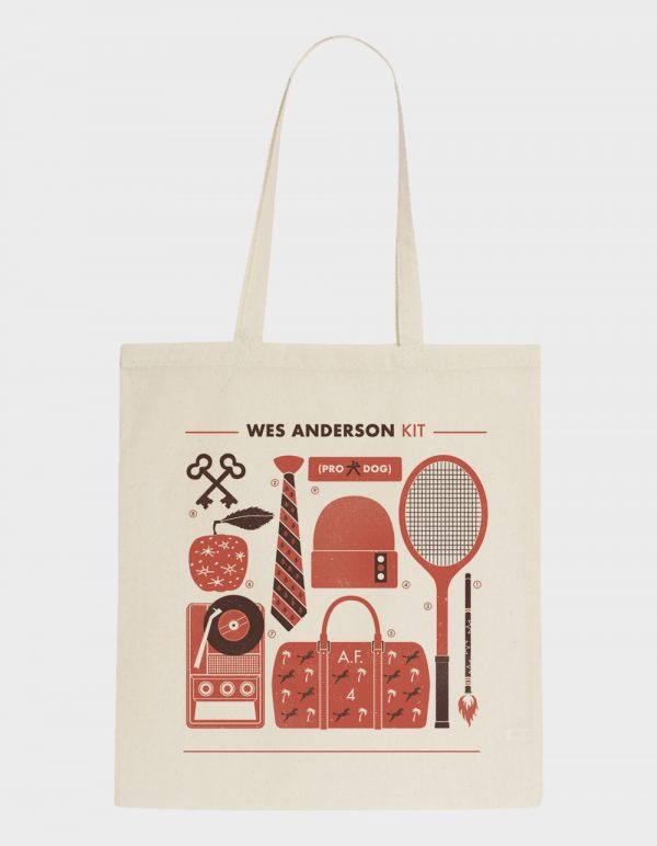 WES ANDERSON tote 1